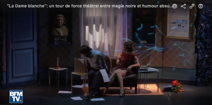 BFM TV : La dame blanche