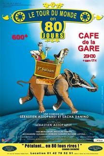TOUS AU THEATRE : Le tour du monde en 80 jours sur France 2
