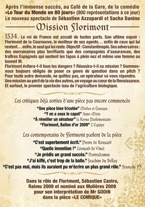 PRESSE : Mission Florimont