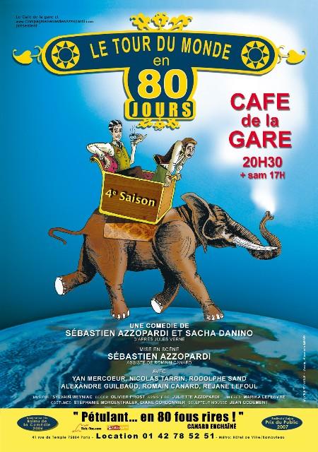 REG'ARTS : Le Tour du monde en 80 jours