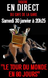 PARIS PREMIERE : Le Tour du monde en 80 jours
