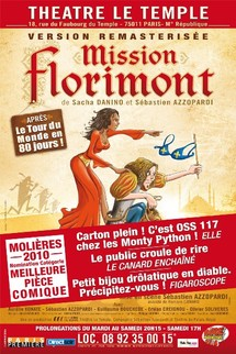 MISSION FLORIMONT : Nomination MOLIERE 2010