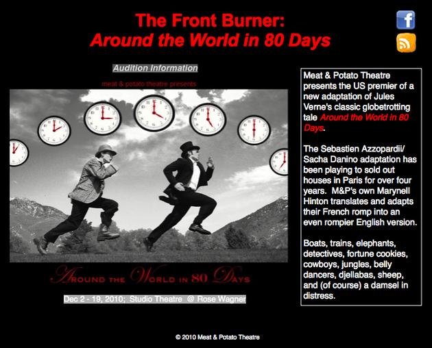 USA : Around The World in 80 Days