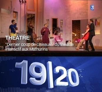 FRANCE 3 : Dernier coup de ciseaux