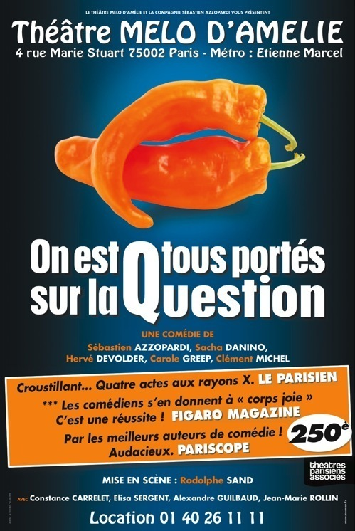 ON EST TOUS PORTES SUR LA QUESTION