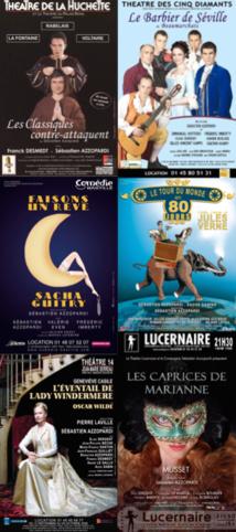 COMPAGNIE SEBASTIEN AZZOPARDI : Historique de nos spectacles
