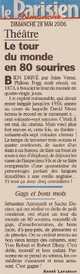 LE PARISIEN : Le Tour du monde en 80 jours