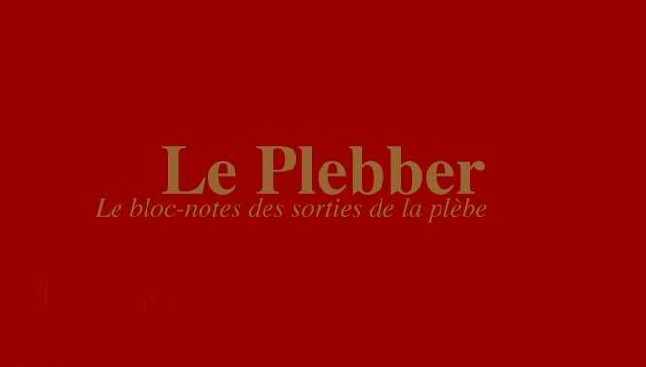 LE PLEBBER : L'Eventail de lady windermere
