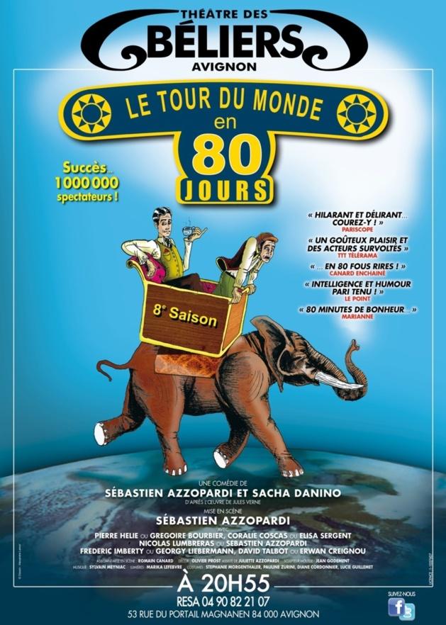 LE TOUR DU MONDE EN 80 JOURS (Festival AVIGNON 2013)