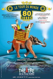 LE TOUR DU MONDE EN 80 JOURS : Théâtre Gaîté Montparnasse...