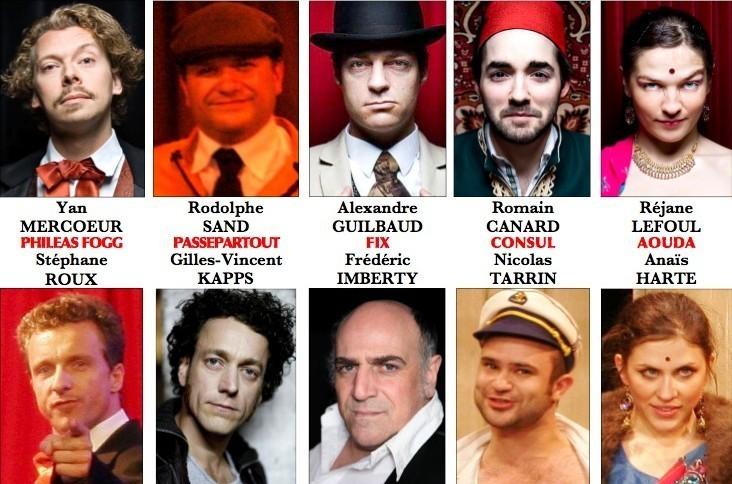 Acteurs, au Café de la Gare et Splendid