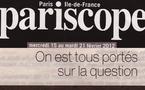 PARISCOPE : On est tous portés sur la question