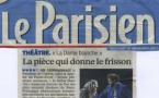 LE PARISIEN : La dame blanche