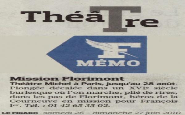 FIGARO : Mission Florimont