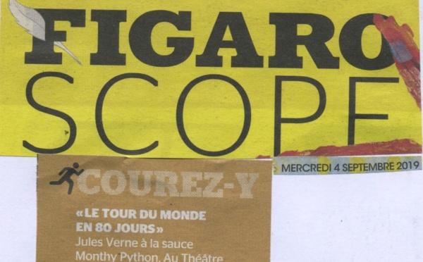 FIGAROSCOPE : Tour du monde en 80 jours