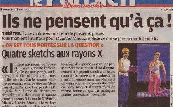 LE PARISIEN : On est tous portés sur la question