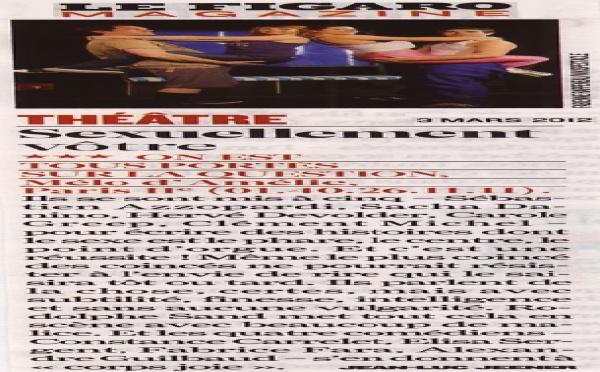 FIGARO MAGAZINE : On est tous portés sur la question