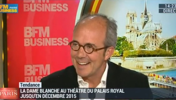 BFM BUSINESS : La dame blanche
